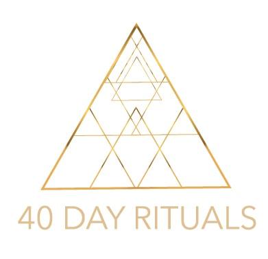 40 days rituals logo